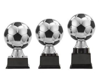 "Ballpokal ""Fußball"" PF300.3-M60 silber/schwarz"