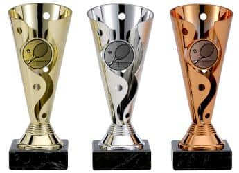 Tennispokale 3er Serie A100-TEN