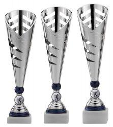 Pokale 3er Serie A297 silber/blau