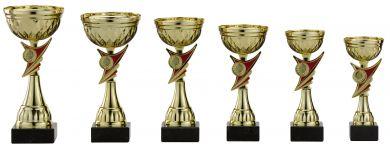 Pokale 6er Serie S478 gold