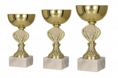 Pokale 3er Serie TRY9079 gold
