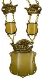 """Prinzenkette """"Hera"""" altgold"""