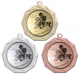 """Medaille """"Kottos"""" Ø 70 mm inkl. Wunschemblem und Kordel"""