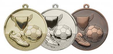 Fußballmedaille Ø 50 mm inkl. Kordel