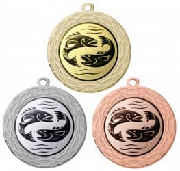 """Medaille """"Uranos"""" Ø 70 mm inkl. Wunschemblem und Kordel"""