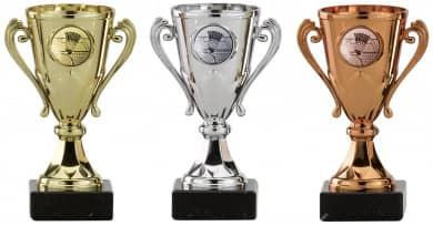 Badmintonpokale 3er Serie A103-BAD