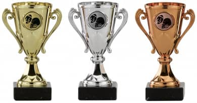 Rugbypokale 3er Serie A103-RUG