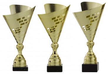 Pokale 3er Serie A296 gold