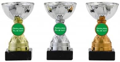 Danke Pokale 3er Serie S1214