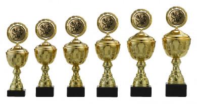 Pokale 6er Serie S160 gold