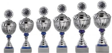 Pokale Serie S755-6er mit Deckel 28 cm - 43 cm