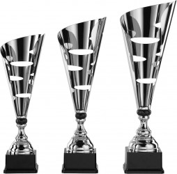 Pokale 3er Serie S869 silber/schwarz