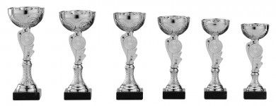 SALE: Pokale 6er Serie S153 silber