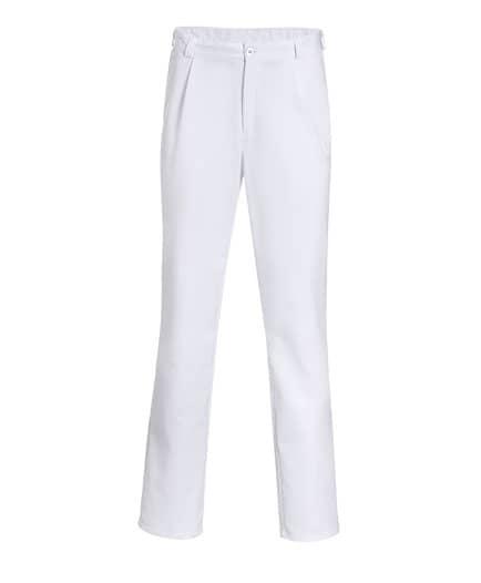 weiße Schützenhose - Uniformhose 360°-Ansicht