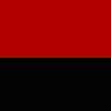Band mit Ring rot-schwarz
