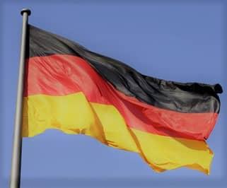 Deutschlandflagge quer