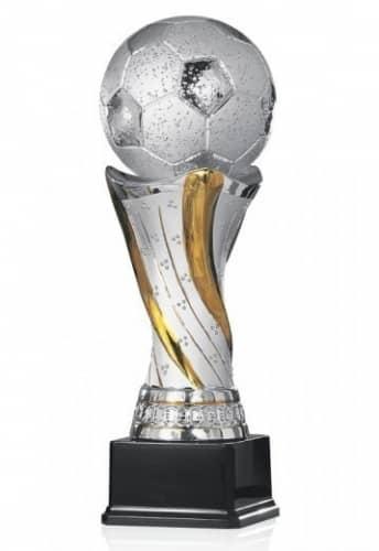 Fußballpokal Keramik