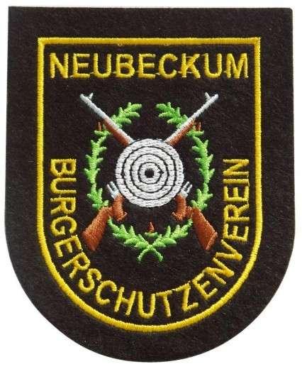 """Stickabzeichen - Aufnäher individuell bestickt """"Neubeckum"""""""