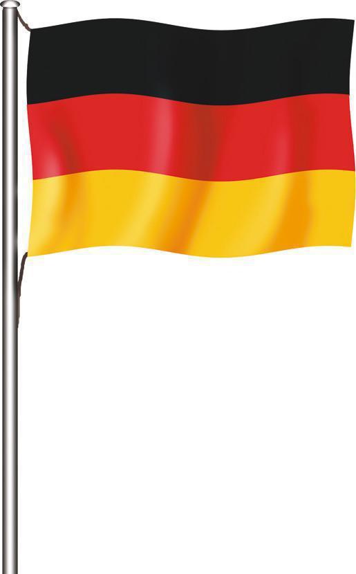 deutschlandflagge hissfahne quer online kaufen bei deitert. Black Bedroom Furniture Sets. Home Design Ideas