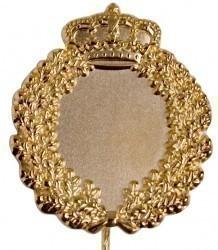 Jubiläumsnadel mit Ehrenkranz und Krone