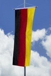 Deutschlandfahne - Bannerfahne 150x500cm