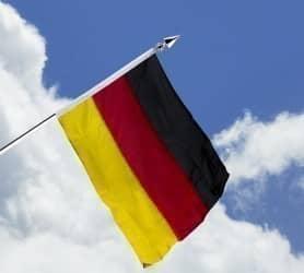 Deutschlandfahne - Haushängefahne 80x120cm