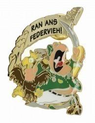 """""""RAN ANS FEDERVIEH!"""" - Offizier"""