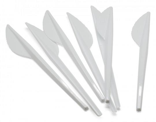 Plastikmesser Einwegbesteck