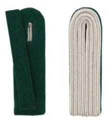 4-streifige Schulterstücke in silber
