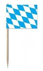50 Stck. Deko-Picker Bayernraute