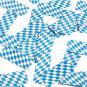 Konfettikanone Bayern Oktoberfest blau/weiß