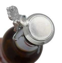 Flaschendeckel aus Zinn