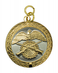 Medaille - silber/gold