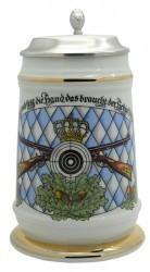 """Bierkrug """"Schützen/Raute"""""""
