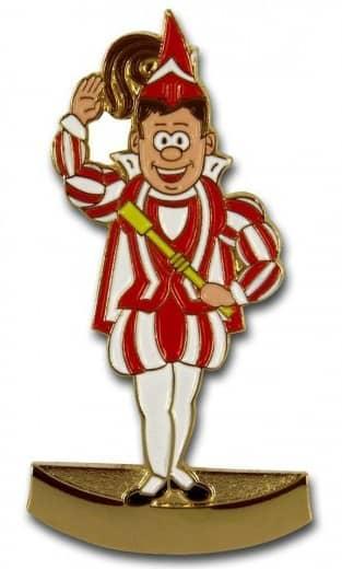 Prinz Pin rot-weiß