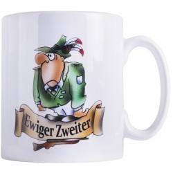 """Tasse """"Ewiger Zweiter"""""""