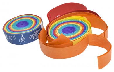 Konfetti-Frisbee Regenbogen