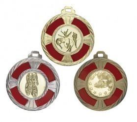 """Medaille """"Korinth"""" Ø 50mm mit Wunschemblem und Band"""