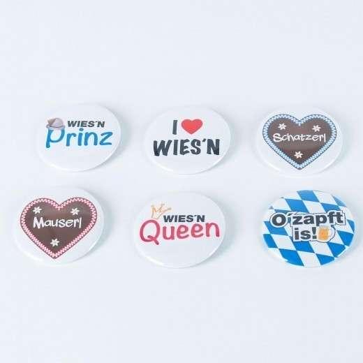 Oktoberfest-Buttons