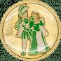 Auflage Prinzenpaar Grün