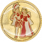 Auflage Prinzenpaar Rot