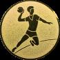 Emblem 25mm Handball Werfer, gold