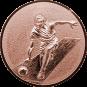 Emblem 25mm Kegeln 3D, bronze