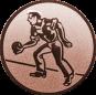 Emblem 25mm Kegler M1, bronze