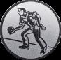 Emblem 25mm Kegler M1, silber