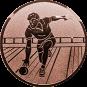 Emblem 25mm Kegler M2, bronze