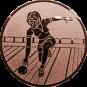 Emblem 25mm Keglerin, bronze