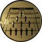Emblem 25mm Kickertisch, gold