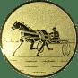 Emblem 25mm Traber, gold