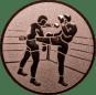 Emblem 50 mm 2 Kickboxer, bronze